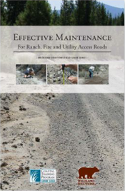 Effective Maintenance for Ranch, Fire and Utility Access Roads cover